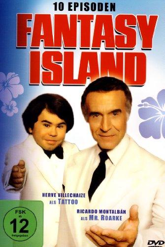 FANTASY ISLAND - 10 Episoden (2DVD's)