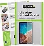 dipos I 2X Schutzfolie matt kompatibel mit Xiaomi Mi Pad 4 Plus Folie Bildschirmschutzfolie