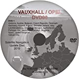 Navegación Sat Nav Mapa DVD Actualización 2019 - compatible con OPEL/VAUXHALL 2019 DVD 90 system - Disco Reino Unido A
