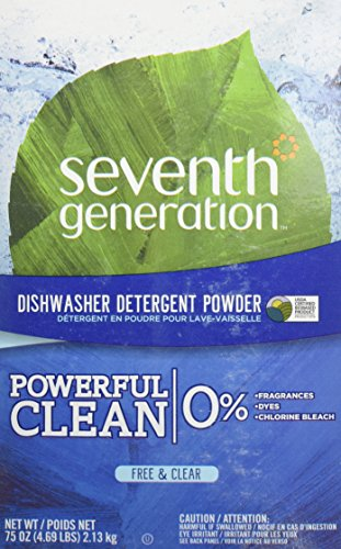 Seventh Generation Auto Dish Powder - Free & Clear - 75 oz - 2 pk