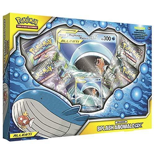 The Pokemon Company Pokemon Collezione Splash Anomalo Carte Collezionabili, Multicolore, 0820650309458