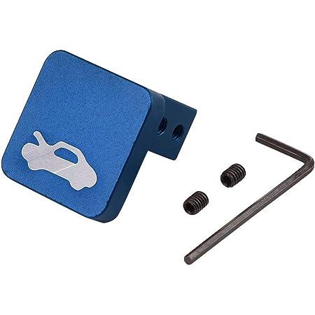 PQY Hood Latch Release Handle Cable Repair Kit Billet Aluminum Compatible with Honda CRV 1997-2006,Element 2003-2011,Ridgeline 2006-2014,Civic 1996-2011 Pack of 2 BLACK