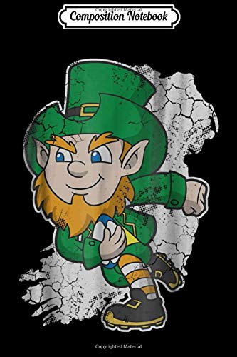 Composition Notebook: Irish Rugby Leprechaun Ireland  Journal/Notebook Blank Lined Ruled 6x9 100 Pages