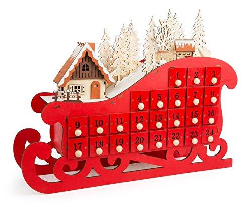 LD Kerstmis decoratieve adventskalender
