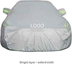 SJQRF Car Cover Compatible with BMW X1 Car Cover .Fully Waterproof Scratch Proof Sunscreen Dustproof Universal Durable Breathable