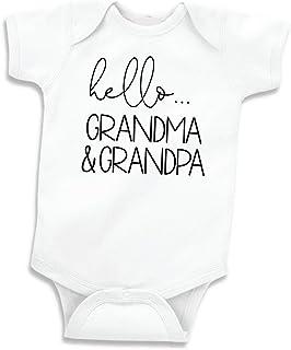 Hello Grandma and Grandpa Baby Announcement Gift Grandparents