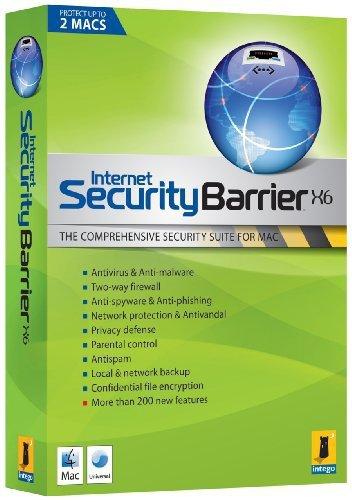 Internet Security Barrier X6 -Mise à jour (2 postes - 1 an)