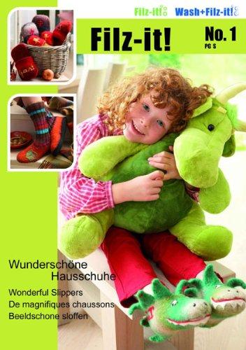 Wash+Filz-it!-Magazin Heft 001 Wunderschöne Hausschuhe
