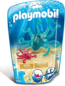 Playmobil - 9066 - Jeu - Pieuvre et Son Petit
