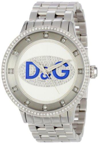 D&G Dolce & Gabbana Prime Time DW0133 - Reloj de Pulsera para Hombre (Acero Inoxidable)