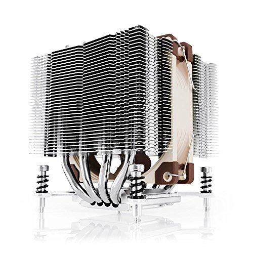 Noctua NH-D9DX i4 3U, Premium CPU Cooler for Intel LGA2011 (Square & Narrow ILM), LGA1356 and LGA1366 (Brown)