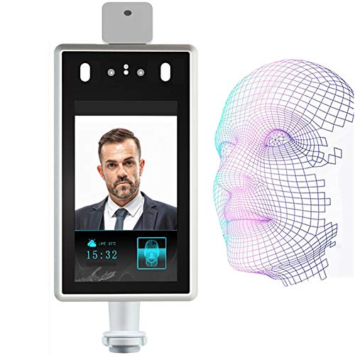 JZH-Light Facial Access Control Mask Recognition Camera Time Attendance with Temperature Detector Monitoring Access Control System