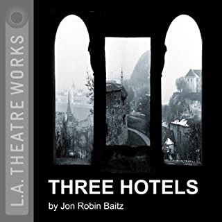 Three Hotels audiobook cover art