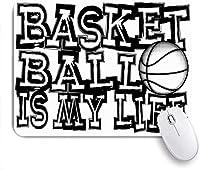 マウスパッド のバスケットボールのアクションスポーツレクリエーションアスリートアタックボールボーラーバスケット ゲーミング オフィス おしゃれ がい りめゴム ゲーミングなど