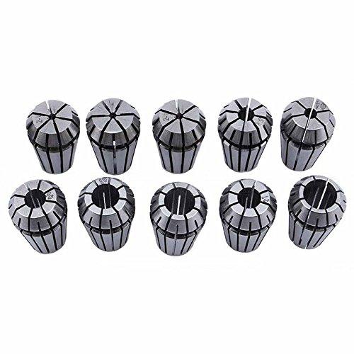 Naliovker 10 Teile/Satz Ultra PräZision ER16 1-10 MM Spannzange Set für CNC FräSen Drehwerkzeug Graviermaschine