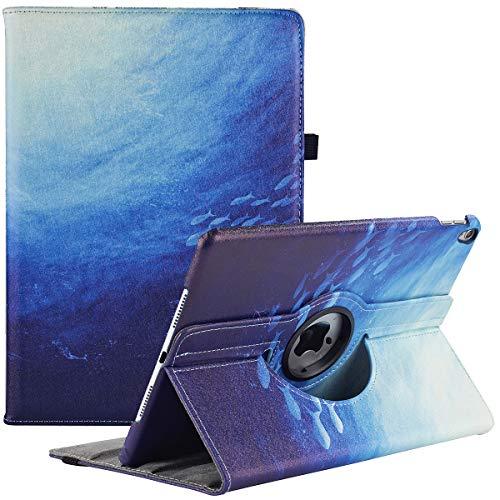 """Custodia per iPad Air (3a generazione) 10,5"""" 2019 / iPad Pro 10,5"""" 2017, rotazione a 360 gradi multi-angolo visualizzazione a libro con supporto per Apple iPad Air 3 (10.5 pollici)"""