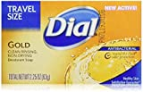 Dial Antibacterial Bar Soap, Gold, 2.25 Ounce, 36 Bars
