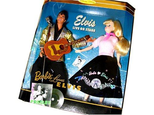 Mattel Barbie Collector # 17450 Barbie Loves Elvis