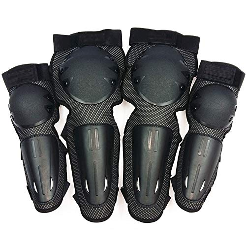 FAGavin Motorcycle Protective Gear Riding Off-road Shatter-resistant Cold Knee Pads Elbow Four-piece
