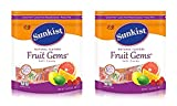 Delicious and made with natural fruit juices Assorted Flavors of: lime, lemon, orange, pink grapefruit and raspberry All Natural Ingredients Sunkist Fruit Gems 2 Pound Resealable Bag Each Bag Each bag contains approximately 92 individually wrapped Su...