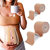 Tacohan 2 Rollos Cinturón de Maternidad Cinta de Banda Embarazo...