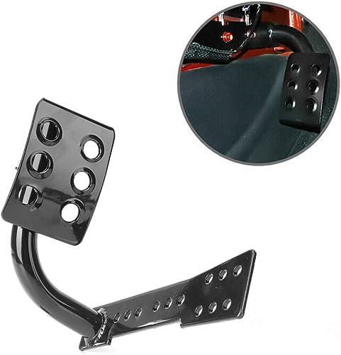 wholesale Mallofusa wholesale Car lowest Footrest Dead Pedal Left Foot Panel Compatible for Jeep Wrangler JK 2007 2008 2009 2010 2011 2012 2013 2014 2015 2016 Black outlet sale