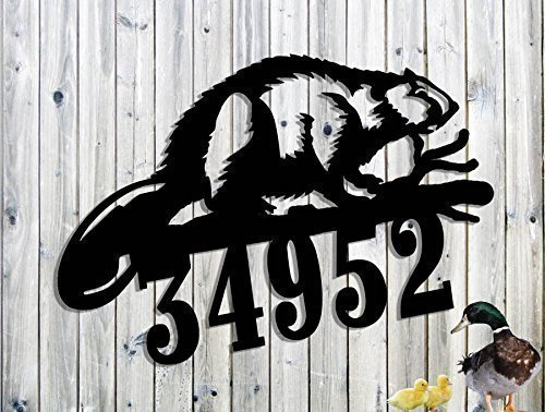 Personalized Address Sign Custom Address Sign Metal Art
