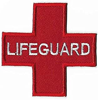 Lifeguard Embroidered Iron on Patch / 3