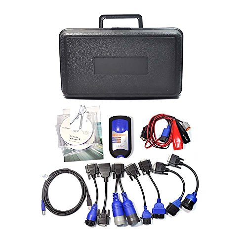 XTruck 125032 diagnosis diagnostic OBD2 USB Link Software Diesel Truck Interface and Software with All Installers.OBD2 cables 3-5 days shipping. Free return without reasons.