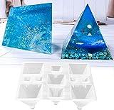 stampi in resina in silicone per fusione di resina epossidica cristallo resina stampi per gioielli fusione di resina, creazione di gioielli, aromaterapia candele