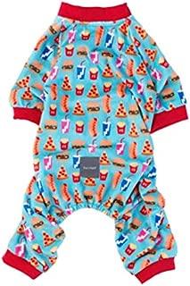 Fuzzyard Supersize Me Dog Cat Premium Pajamas Pizza Fries Size1