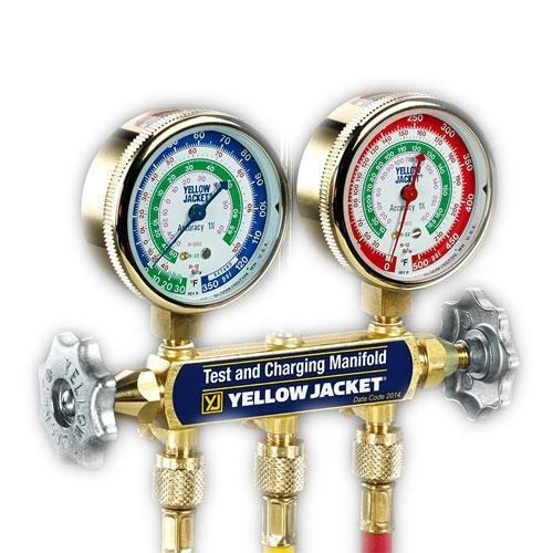 Yellow Jacket 42436 Series 41 Deluxe Manifold Superlatite High order Class 1 with Brass