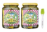Tony Packo Sweet Hot Pickles and Peppers, 24 Ounce (Pack of 2) Bundled With PrimeTime Direct...