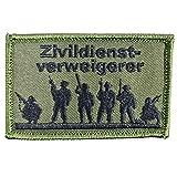 Zivildienstverweigerer Deutschland Bundeswehr Aufnäher