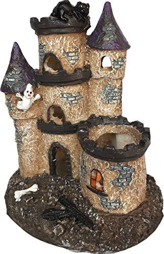Fish R Fun Castle & Turrets Resin Aquarium Ornament