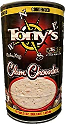 tony's clam chowder, 3x world champion