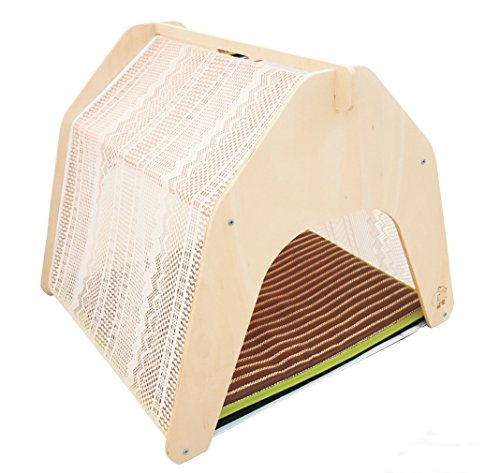 Rolling Creek Lace Pet Bed  Indoor Dog Cat House