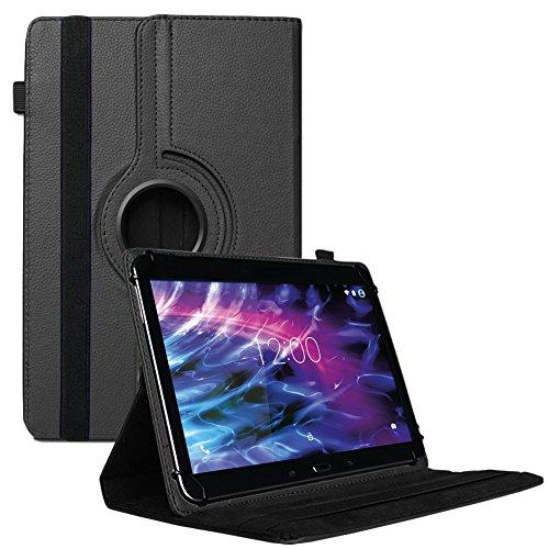 NAUC Medion Lifetab X10311 X 10302 P10400 Tablet Tasche Schwarz Hülle Schutzhülle Cover Case