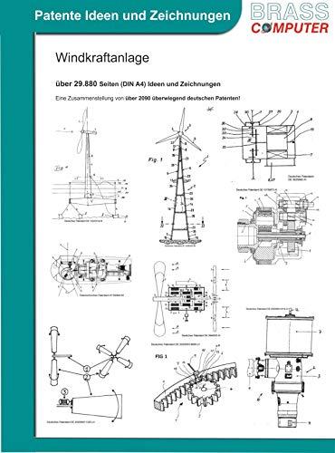 Windkraftanlage, über 29.880 Seiten (DIN A4) Ideen und Zeichnungen