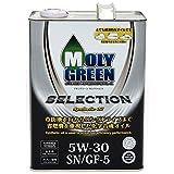 モリグリーン ガソリンエンジンオイル セレクション 5W30 SN/GF-5 4L 0470074