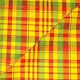designers-factory Stoff Madras 100% Baumwolle
