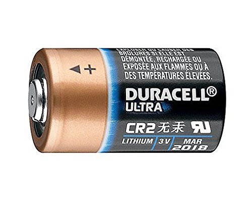 Duracell Pile au lithium CR17355 Ultra CR 2 (Lot de 10) Noir/Cuivre