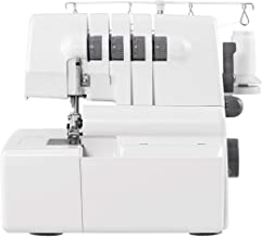 COSTWAY Sewing Machine Portable Multifunctional 2 Needle 4 Thread Capability Serger Over Lock with Differential Feed