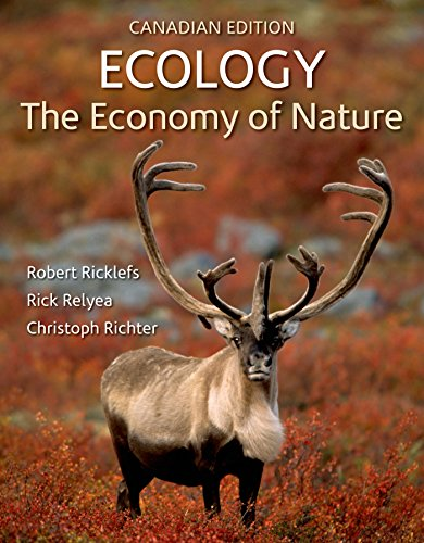 Price comparison product image Ecology: The Economy of Nature (Canadian Edition)