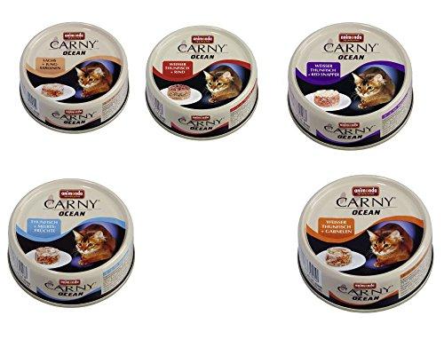 Animonda Carny Ocean Mix 2, 24 x 80 g Dose Katzenfutter verschiedene Sorten