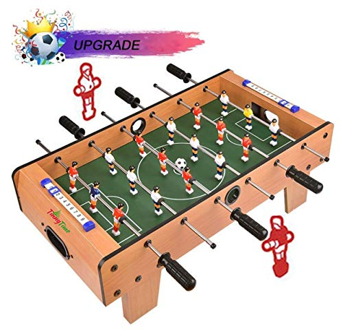 Tinny Time Indoor Table Soccer Foosball Football Game, 6 Rods (69cm)