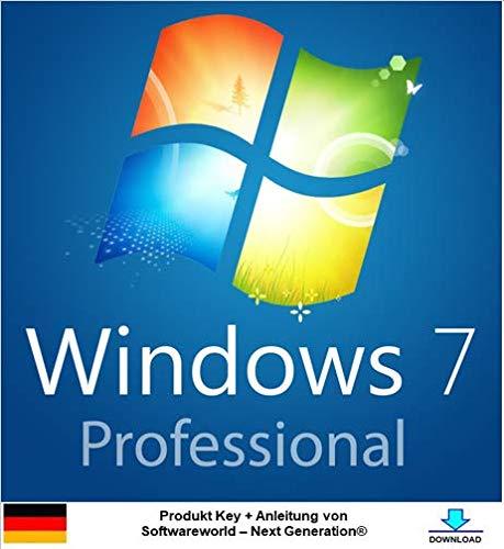 Windows 7 Pro 32 bit & 64 bit Aktivierungsschlüssel + Anleitung von Softwareworld – Next Generation®