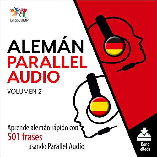 Diseño de la portada del título Alemán Parallel Audio, Volumen 2