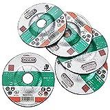 Connex COX938016 - Rueda de corte (tamaño: 125mm, pack de 5)