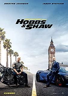 ワイルド・スピード/スーパーコンボ ポスター 42x30cm 2019 FAST & FURIOUS PRESENTS: HOBBS & SHAW ドウェイン ジョンソン ジェイソン ステイサム ワイルドスピード ルーク ホブス デッカード ショウ ワイルド スピード